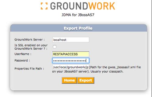 GroundWork JDMA for JBoss AS7 - GroundWork 7 1 1